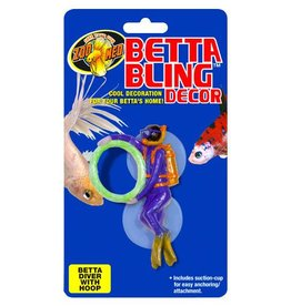 Zoo Med Betta Bling -Diver w/hoop