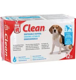 Dogit Dogit Clean Disposable Diapers Medium