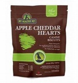 My Healthy Pet Holistic Blend Dog Treats Apple Cheddar Hearts 235g