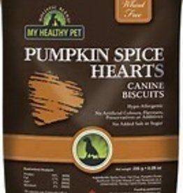 My Healthy Pet Holistic Blend Dog Treats Pumpkin Hearts 235g
