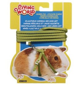 Living World Guinea Pig Harness & Lead Set Green