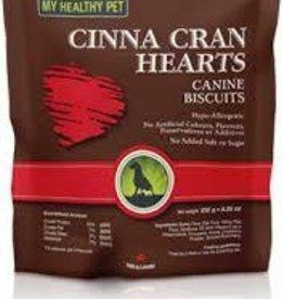 My Healthy Pet Holistic Blend Dog Treats Cinna Cran Hearts 235g