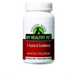 My Healthy Pet Holistic Blend L-Lysine & Cranberry Powder 128g