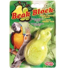 Living World Mineral Block for Cockatiels - Pear