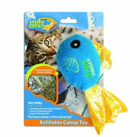 Cosmic Fish - Wet Willy Cat Toy
