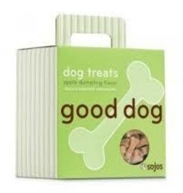 sojos SOJOS Good Dog Treats Apple Dumping 8oz
