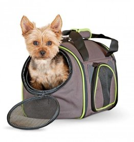 K&H Classy Go Pet Carrier Small Brown/Lime
