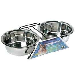 Dogit Dogit SS Double Dog Diner, Large