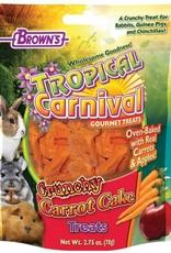 Tropical Carnival Natural Crunchy Carrot Cake Treat 2.75 oz