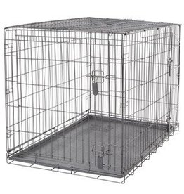 Dogit Dogit Two Door Wire Home Crates with divider - XLarge - 106.5 x 70 x 77 cm (42 x 27.5 x 30 in)