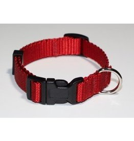 "AK-9 Adjustable Collar 5/8 x 14-18"" RED"