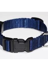 "AK-9 Adjustable Collar 5/8 x 14-18"" NAVY"