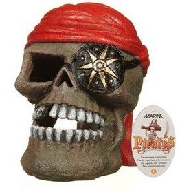 "Marina Marina Polyresin Ornament - ""Pirate Skull"" - Large - 9.5 x 13.5 x 13.5 cm (3.7 x 5.3 x 5.3 in)"