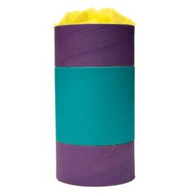 Living World Colourful Cardboard Chew-nels with Nesting material - Large