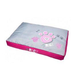 rogz Rogz Flat Podz Pink Paws Dog Bed XL