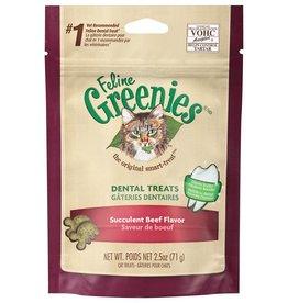 Greenies Greenies Feline Dental Succulent Beef 2.5OZ