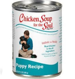 Chicken Soup  for the Soul  Puppy Canned Food