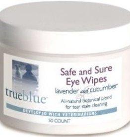 True Blue Wipes  Safe & Sure Eye Wipes