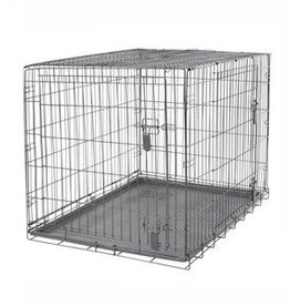 Dogit Dogit Two Door Wire Home Crates with divider - XXLarge - 122.5 x 74.5 x 80.5 cm (48 x 29.3 x 31.5 in)