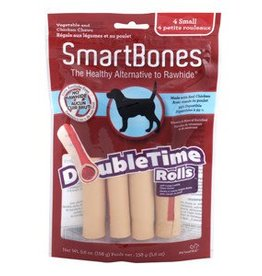 Smart Bones SmartBones DoubleTime Rolls, Chicken, Small, 4 pack