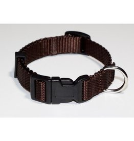 "AK-9 AK-9 Adjustable Collar 5/8 X 8-14"" Brown"