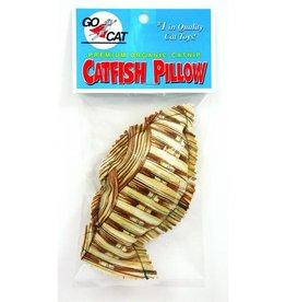 GO CAT Cat Fish Catnip Pillow