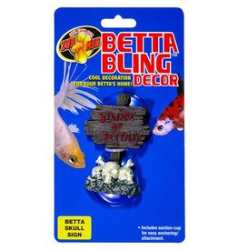 Zoo Med Zoo Med Betta Bling Skull Sign