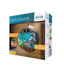Elive Betta Bubble Aquarium - Black