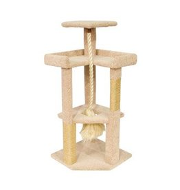 Ware Kitty Corner Cat Tree with Rope