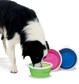 Petmate Petmate Silicone Travel Bowl Assorted - 3 Cup