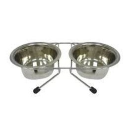 Arjan Arjan Stainless Steel Double Diner 2 Quart