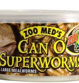 Zoo Med Zoo Med Can O' Superworms 1.2oz