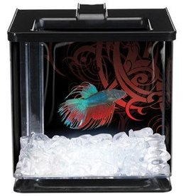 Marina Marina Betta Special Edition EZ Care Aquarium - Black