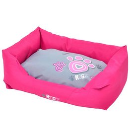 rogz Small Wall Podz Pink Paw Dog Bed