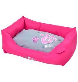 rogz Small Wall Podz Pink Paw Dog Bed