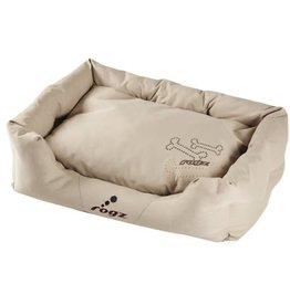 rogz Rogz Medium Wall Podz Bronze Bone Dog Bed