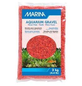 Marina Marina Orange Decorative Aquarium Gravel - 2 kg (4.4 lb)