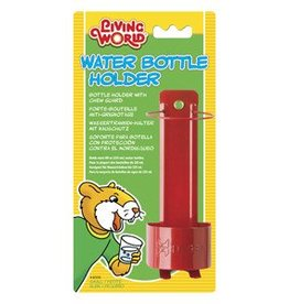 Living World Metal Water Bottle Holder - Small - Red