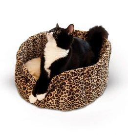 K&H Lazy Cup Small Leopard Print