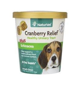 NaturVet Naturvet Cranberry Relief + Immune Soft Chew (60ct)