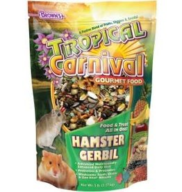 Tropical Carnival Gourmet Hamster Food 5 lb