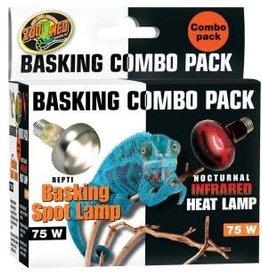 Zoo Med Zoo Med Basking/Infrared Combo Pack 75 Watt