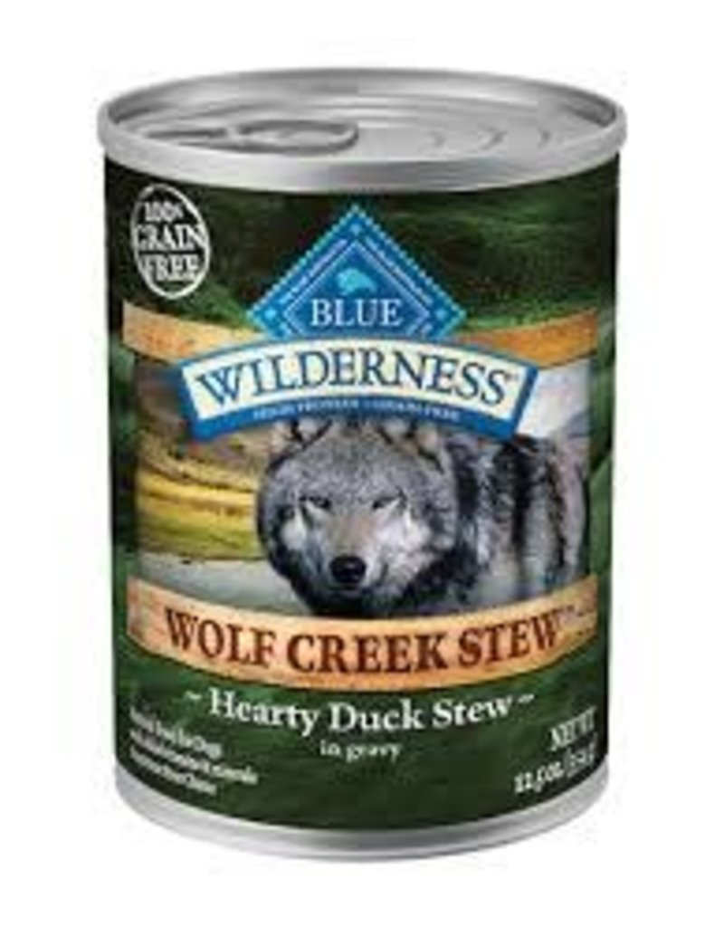 Blue Buffalo Blue Buffalo Wilderness Wolf Creek Stews Hearty Duck Stews 12.5oz
