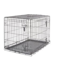 Dogit Dogit Two Door Wire Home Crates with divider - Large - 91 x 56 x 62 cm (36 x 22 x 24.5 in)
