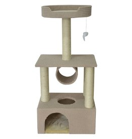 Animal Treasures Animal Treasures Cat Tree Scratcher - Condo - 42""
