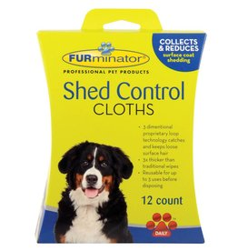 FURminator FURminator Shed Control Cloths for Dogs - 12 pk