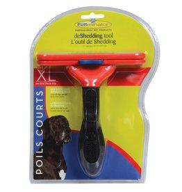 """FURminator FURminator Short Hair deShedding Tool for Dogs - XL - 5"""""""