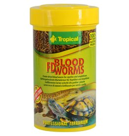 Tropical Tropical Freeze-Dried Blood Worms - 7 g