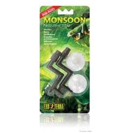 Exo Terra Exo Terra Replacement 2 Nozzles with Suction Cups for PT2495