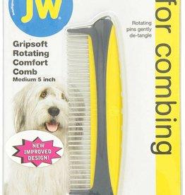 """JW Rotating Comfort Comb Medium 5"""""""